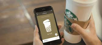 Starbucks payment and reward card accounts for nearly half its business