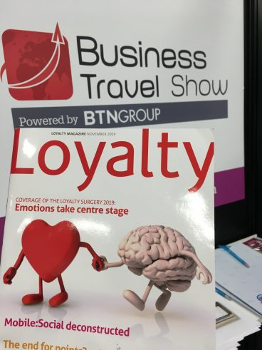 Loyalty Magazine at the Business Travel Show, London