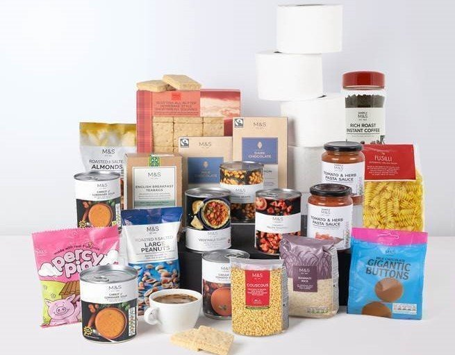 Not just any food box – an M&S food box