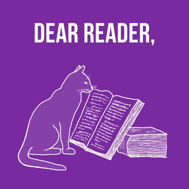 Dear Reader………..