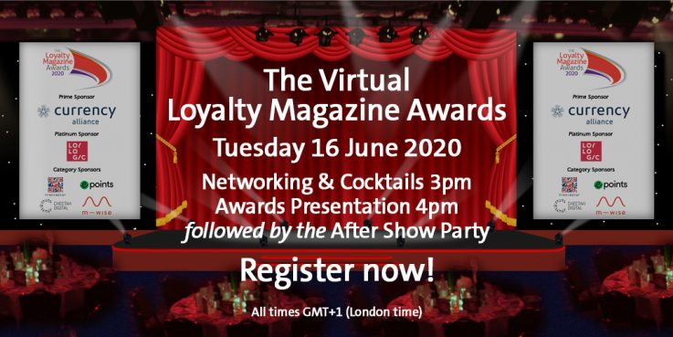 The Loyalty Magazine Awards 2020, June 16, from 3pm GMT+1 - London time. You are invited!