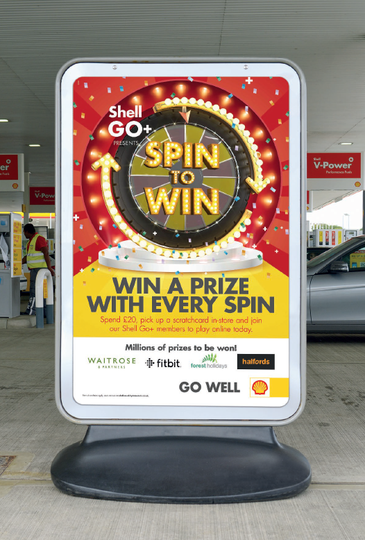 Shell launches winners only gamification in UK